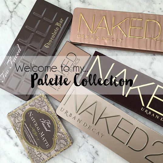 Eyeshadow Palette Collection and Review feat. Urban Decay and Too Faced.