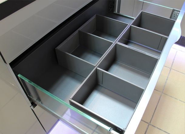 Organizery do szuflad Legrabox Blum