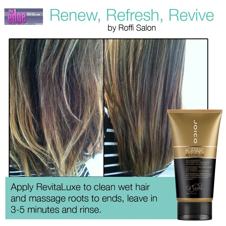 With Every 5 Min Treatment Of Joico S Revitaluxe Hair Is Left Feeling Stronger