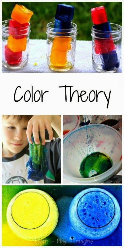 25+ hands on way to explore color theory - fun science for kids