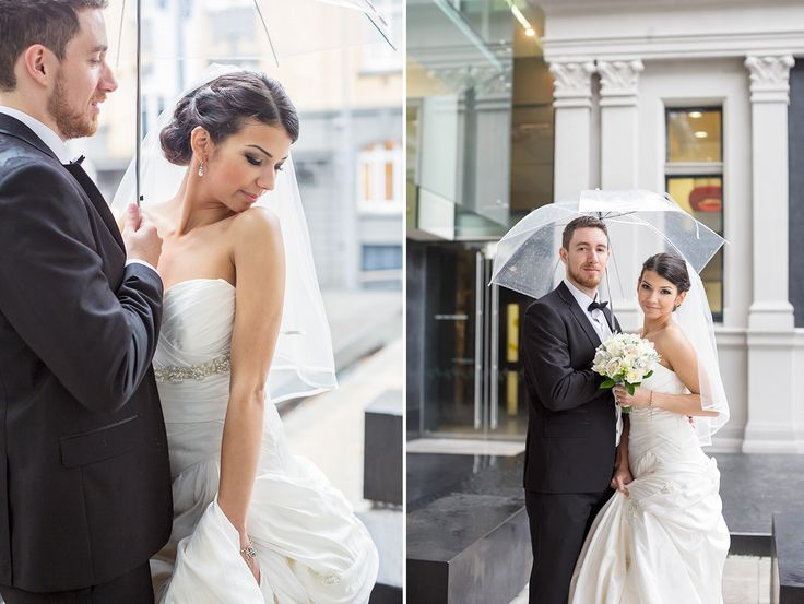 Rainy day wedding idea! Wild and Grace | Urban Auckland City Wedding photography #rainydaywedding #weddingphotography #rainwedding