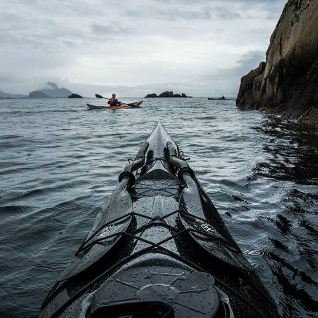 Kanosuyla Norveç'in fiyortlarını fotoğraflıyor (Foto Haber) | NTV