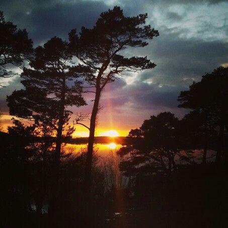 Sunset at Caragh Lake