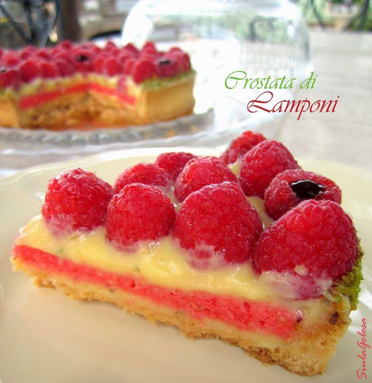 Siula Golosa: Crostata di lamponi - Raspberry tart