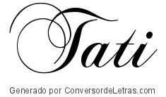Chopin Script | Conversor de Letras