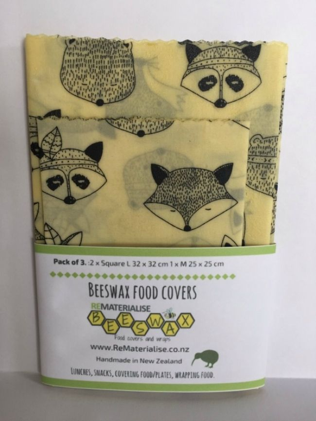 Enter to win: WIN!! Beeswax food covers pack of 3 GIVEAWAY…