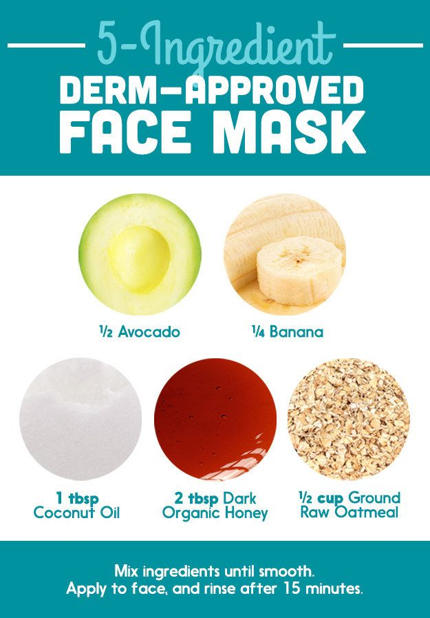 A DIY face mask that's actually dermatologist approved.