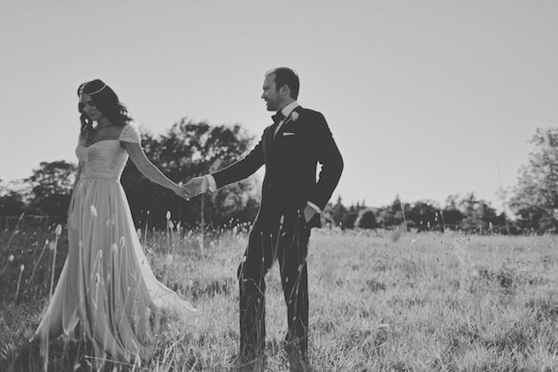 stylish bride and groom / Traci Griffin Photography