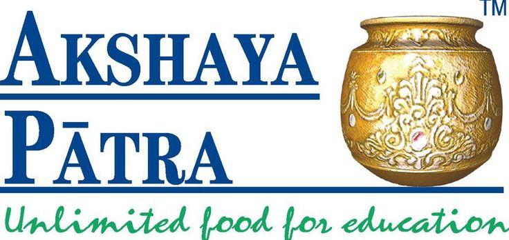 Akshaya Patra - A mid day meal scheme for school children
