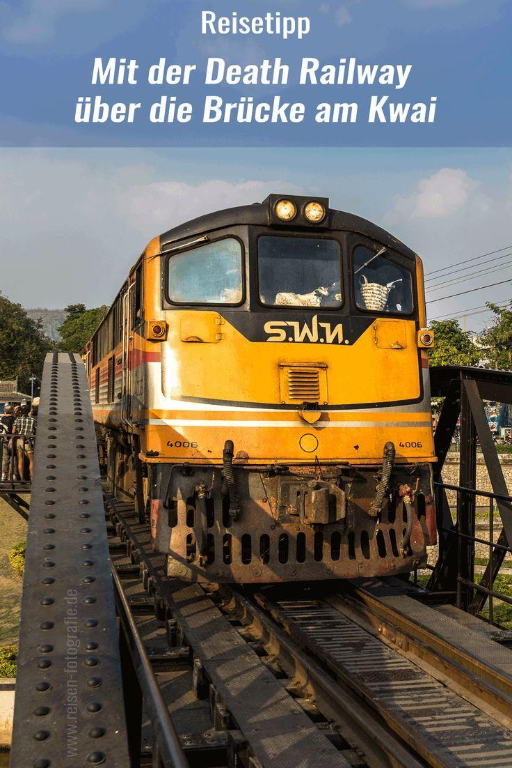 Kanchanaburi, die Stadt im westlichen Zentralthailand, ist wohl durch die berühmte Brücke am Kwai richtig bekannt geworden. Die schwarze Eisenbahnbrücke wurde von Kriegsgefangenen der japanischen Armee im 2. Weltkrieg erbaut. Die Brücke gehörte damals zur