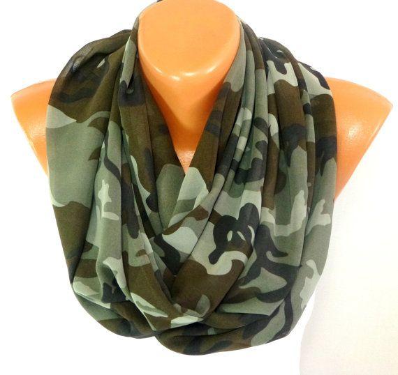 20% Off. PROMO CODE: LF20 🌴✨ƒɾҽҽ sհíթթíղց, 💕 💕 💕 💕 💕 Loop scarf, infinity Scarf, Camouflage Scarf, Military Scarf, Army Scarf, Fall Winter Fashion Accessories, Gift For her, Unisex, Christmas #gift #scarf #scarves #shawl #SummerScarf
