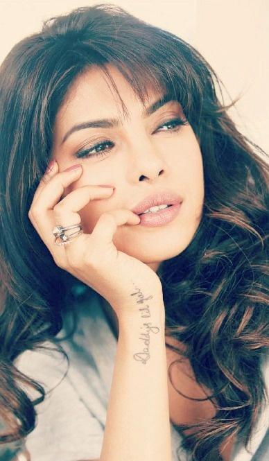 Priyanka Chopra tattoo