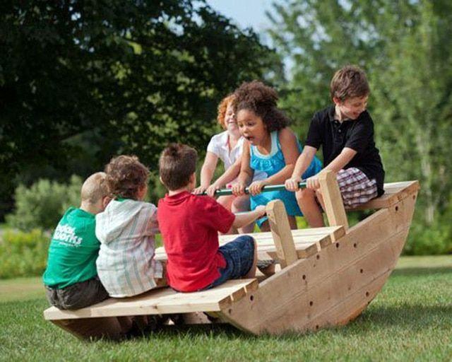 36 Outside Of The Box Backyard Play Sets | Jeux enfant