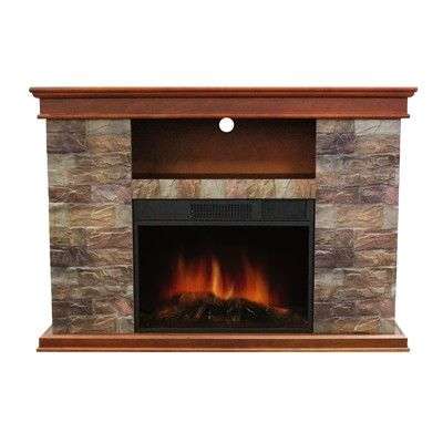 Stonegate Sanibel Electric Fireplace & Reviews | Wayfair