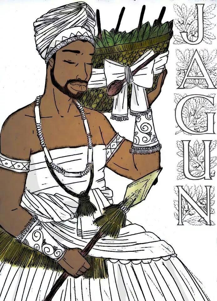 Muitos olham pra ele de várias formas, uns dizem que ele tem a famosa palha de Obaluayê na cabeça outros afirmam que ele usa apenas um ...