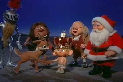 """A review of the 1976 Rankin Bass special """"Rudolph's Shiny New Year"""""""
