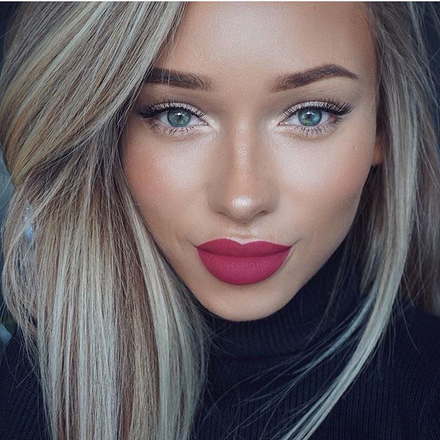 @liza_lash looks gorgeous in the Ultra Matte Lip #Scrooge! In stock  #colourpopfun #colourpopcosmetics
