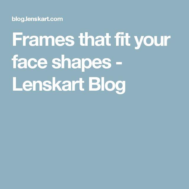 d1f03cee32 Frames that fit your face shapes - Lenskart Blog