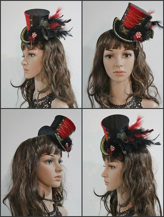 Women Mini Top Hat Carnival Circus Ring by MeraVDesignCompany