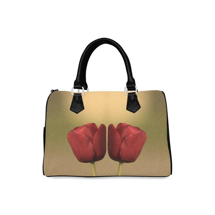 Two of a Kind Barrel Type Handbag.