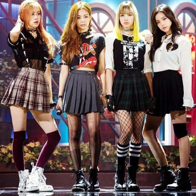 Resultado De Imagen Para Blackpink Moda Kpop Estilos Da Moda Coreana Ideias Fashion