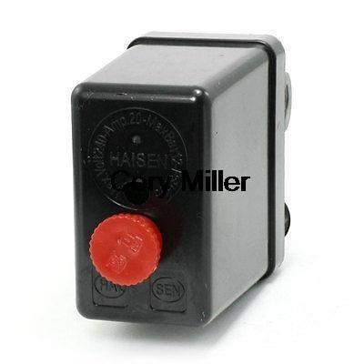 $11.11 (Buy here: https://alitems.com/g/1e8d114494ebda23ff8b16525dc3e8/?i=5&ulp=https%3A%2F%2Fwww.aliexpress.com%2Fitem%2FAC-240V-20A-175PSI-12Bar-4-Port-Air-Compressor-Pressure-Switch-Control-Valve%2F1806869031.html ) AC 240V 20A 175PSI 12Bar 4-Port Air Compressor Pressure Switch Control Valve for just $11.11