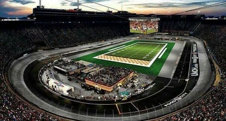 Battle at Bristol. I have tickets!  Can't wait to watch my Vols in my hometown!
