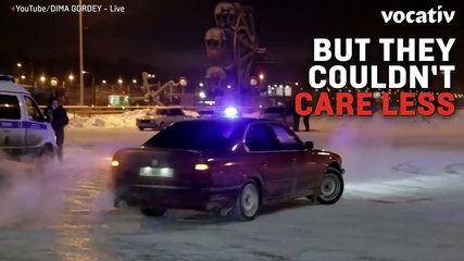 Russian Drift Racers Racing in the Streets   lodynt.com  لودي نت فيديو شير
