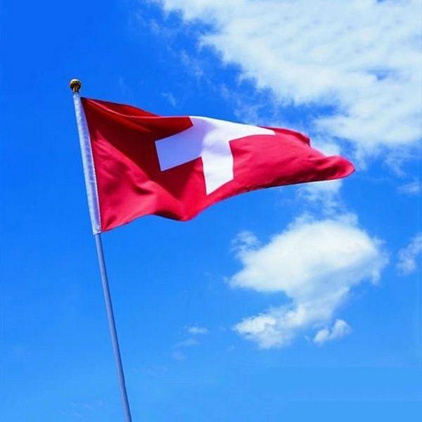 Swirzerland National Flag Swiss Flag 3x5ft Polyester Flag 90x150cm Banners Celebration Big Flag Office Bar Home Decoration In 2020 Switzerland Flag Switzerland Wallpaper