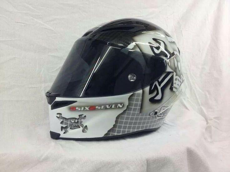 Guy Martin. Helmet