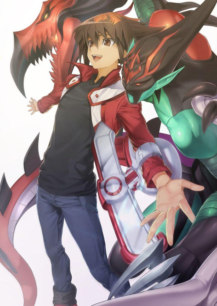 Juudai Yuuki, Elemental Hero Flame Wingman [Yugioh GX]