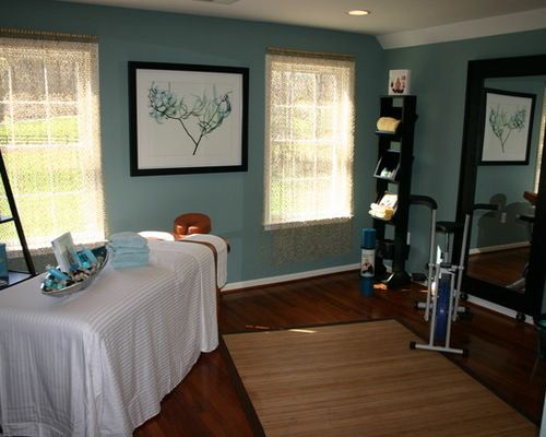 Massage Therapy Room Home Design Ideas, Pictures, Remodel and Decor