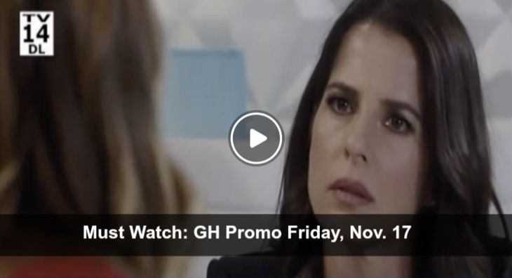 WATCH: General Hospital (GH) Preview Friday November 17 – Dangerous Taunting Begins