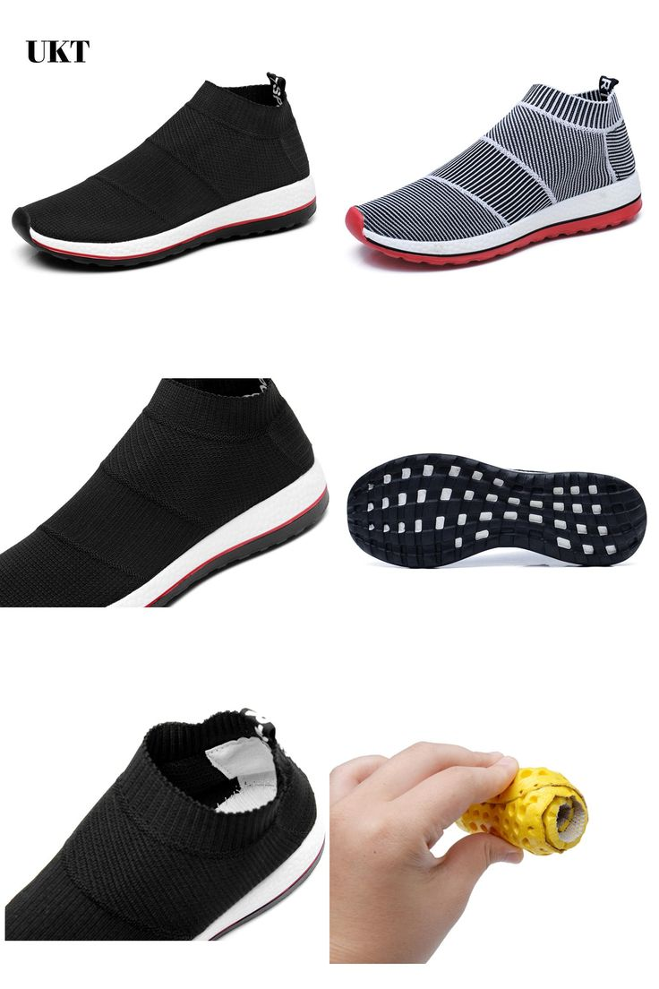 [Visit to Buy] hot sale running shoes for men women sneakers sport sneaker cheap Light Runing Breathable Slip-On Mesh (Air mesh) Wide(C,D,W) #Advertisement