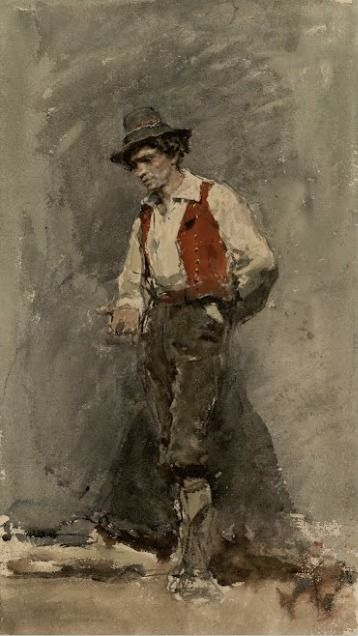 Mariano Fortuny Marsal, Calabrian (1868) on ArtStack #mariano-fortuny-marsal #art