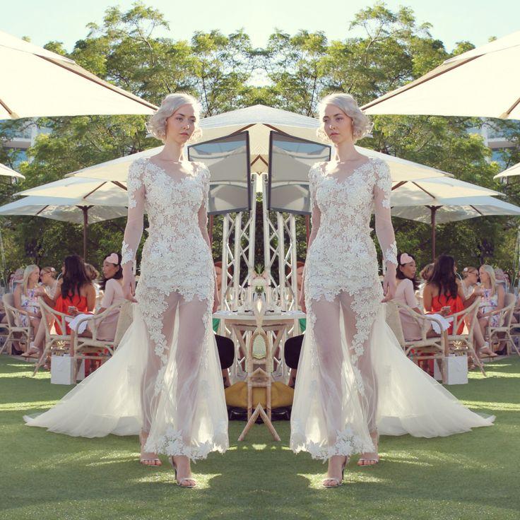 || Betty Tran blows guests away as usual || http://timessquare.com.au/fashion/betty-tran || #timessquareclaremont #stmdesignerbridalhightea #designer #hightea #fashion #beautiful #dress #gowns #bridal #bride #wedding #walabels #wadesigners #avionway