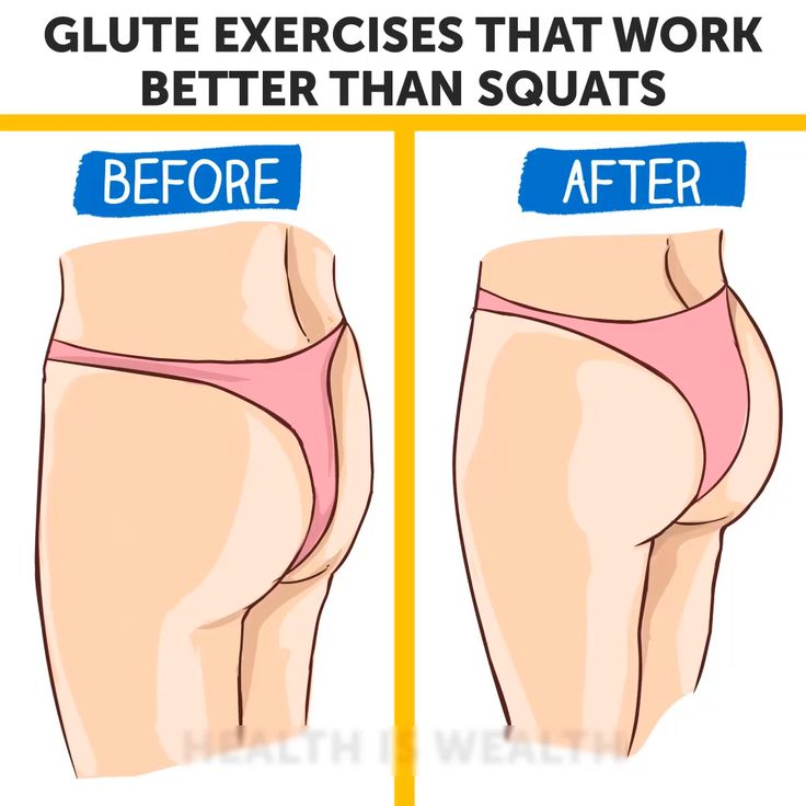 Glute Exercises That Work Better Than Squats