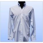 Camisa Nautica Slim Fit Blanca cuadrada