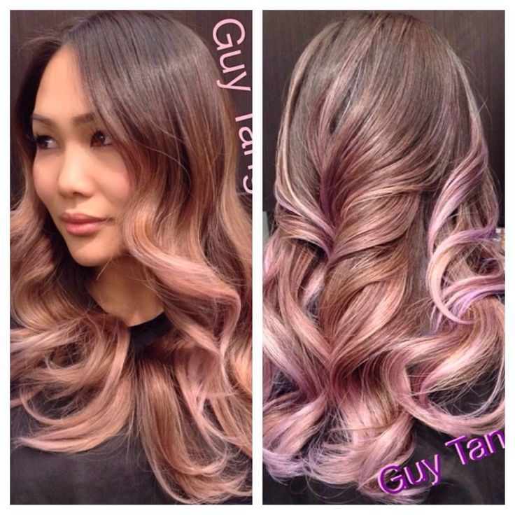 dusty rose gold hair color - Google Search | Hair/beauty