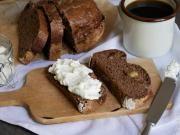 STOBklub - Banánový chlebíček s kakaem
