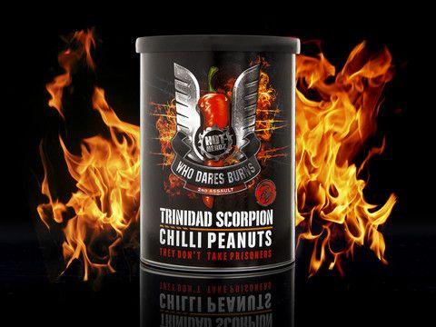 Billiga julklappar - Trinidad Scorpion Chilli Peanuts, Extremt starka jordnötter!
