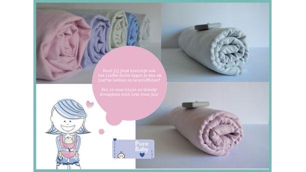 Heerlijk zachte draagdoeken van 100% katoen. In diverse prachtige kleuren!