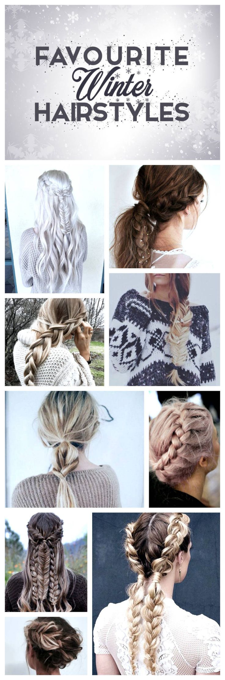 Favourite Braided Hairstyles for Winter❄️