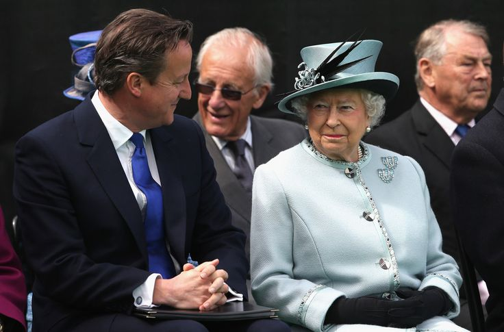 David Cameron, UK prime minister, 2015 | Queen Elizabeth II Pictured With World Leaders During Her Record-Breaking Reign