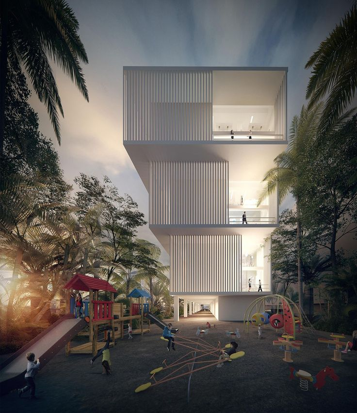 Otunba Offices (Design Proposal) in Lagos by Domaine Public Architects