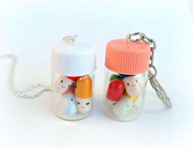 Best 25 happy pills ideas on pinterest glitter glitter for Pill bottle jewelry