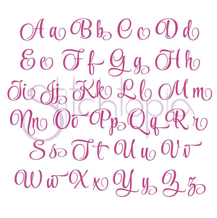 1000 Images About Fabulous Fonts On Pinterest Alphabet