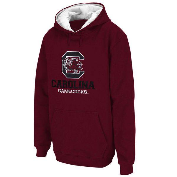South Carolina Gamecocks Logo & School Pullover Hoodie - Garnet - $17.99