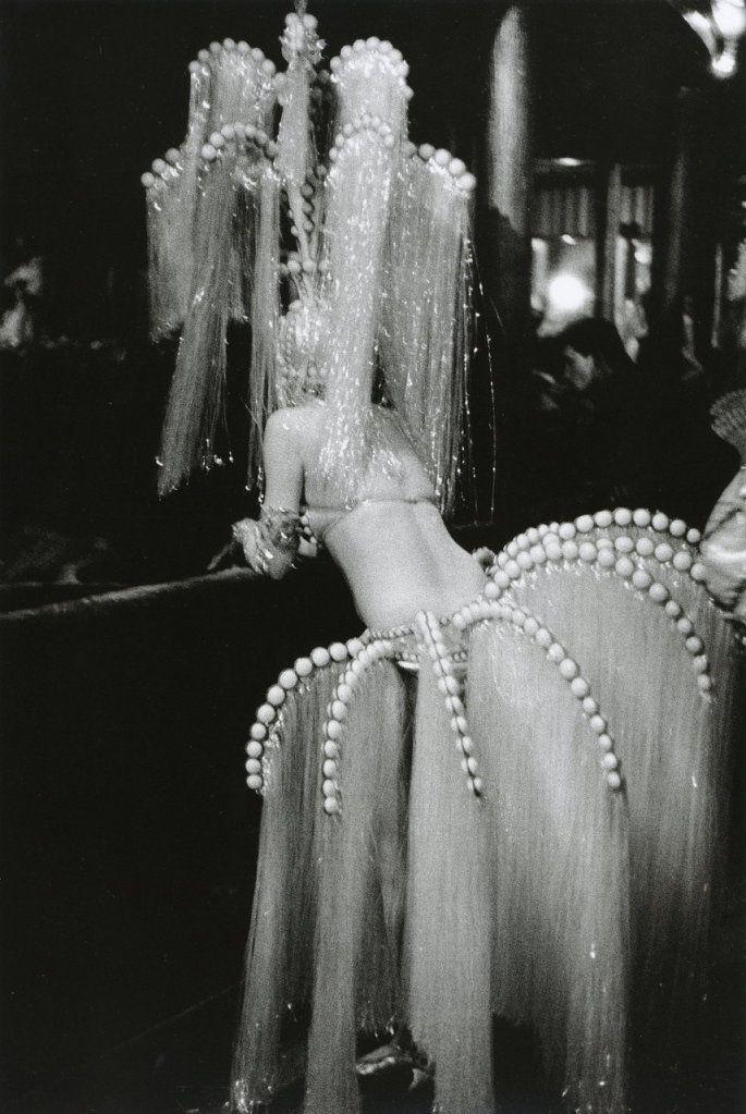 The Folies-Bergère in Paris, 1960 photographed by Édouard Boubat