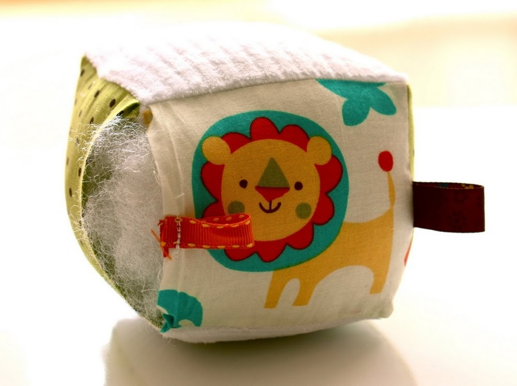 soft block tutorial...perfect little baby shower gift